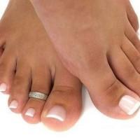Моделирование ногтей на ногах